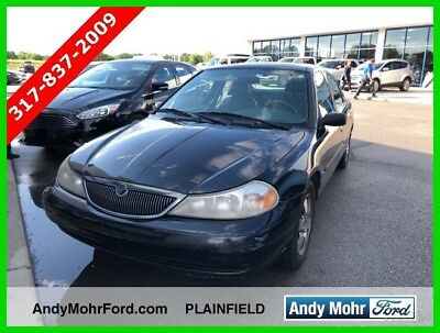 1999 Mercury Mystique LS Used 99 Mercury Sable LS 2.5L V6 Auto FWD Sedan Black Cloth No Reserve