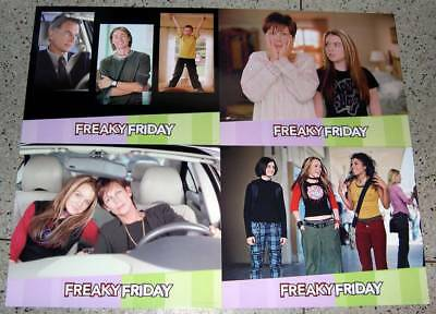 Freaky Friday 2003 USA Lobby Cards set of 8 Jamie Lee Curtis No DVD