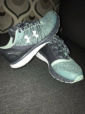 Women s Under Armour Tennis Shoes Bandit Size 7 EUC Teal Mint Green Light 0d3bac782