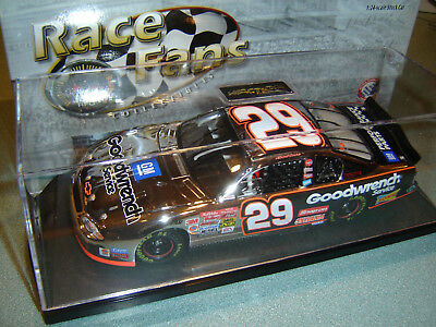 Kevin Harvick #29 Gm Goodwrench Service Nascar 2002 Action 1/24 Rfo Platinum
