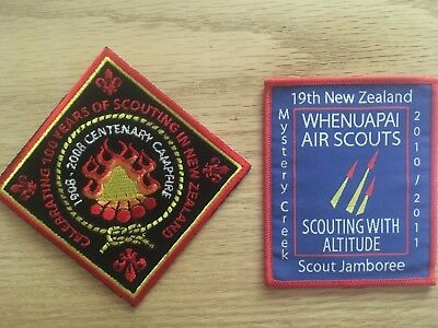 New Zealand Scouting Boy Scout Patches Jamboree Camporee BSA
