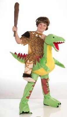 Caveboy Dinosaur Rider Costume Child One Size Fits Most