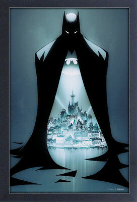 BATMAN DOORWAY 13x19 FRAMED GELCOAT DC COMICS BRUCE WAYNE ROBIN JOKER GOTHAM NEW
