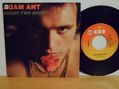 Single ADAM AND THE ANTS  Goody two shoes & Red Scab CBS CBSA 2367 p1982