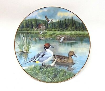 1986 The Pintail by Bart Jerner Second Issue Limited Ed. Collectible Duck Plate