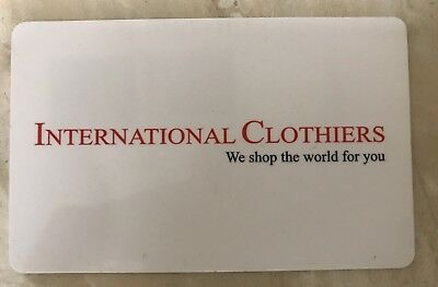 International Clothiers Gift Card - Mail Delivery
