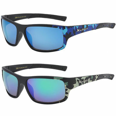 67a68a27551 Men s Xloop Fashion Real Tree Camouflage Camo Sports Hunting Sunglasses  Shade
