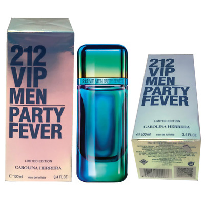 150c527691 212 VIP Party Fever by Carolina Herrera EDT Spray 3.4 oz.for Men.Sealed