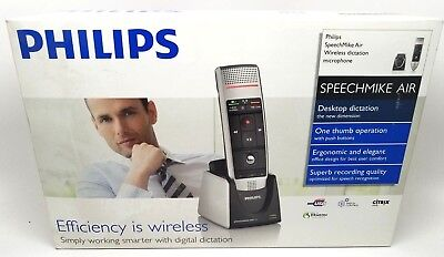 Philips Speechmike Air Wireless Dictation Microphone