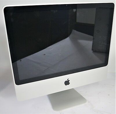 "Apple A1224 iMac 20"" 2009 Intel C2D E8135 2.66GHz 4GB DDR3 500GB HDD OSX 10.11"