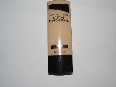 Max Factor Lasting Performance Foundation 35ml MANY SHADE AVAILABLE