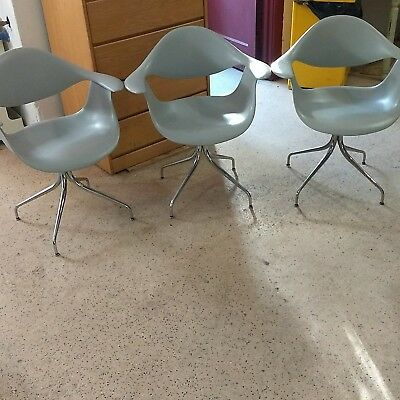 George Nelson Herman Miller authentic mid century modern swag leg set of 2