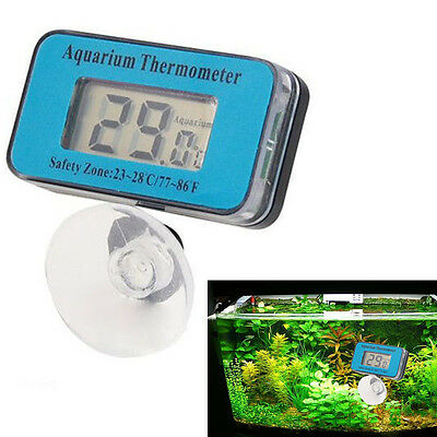 Digital LCD Waterproof Fish Aquarium Water Tank Temperature Thermometer TOP