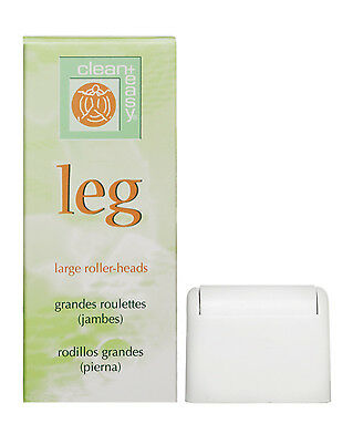 Clean+Easy Clean+ Leg - Large Roller Heads - Pack of 3