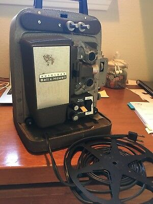 Bell & Howell 274 Autoload Super 8 8mm Movie Projector