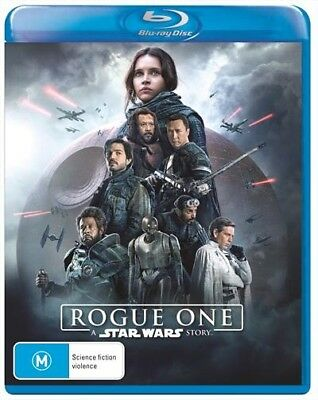 ROGUE ONE - A STAR WARS STORY (Blu-ray, 2017) [BRAND NEW & SEALED]