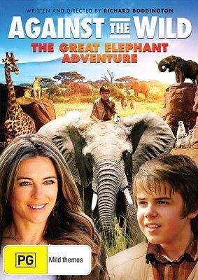 Against The Wild - The Great Elephant Adventure (Dvd, 2018) [Brand New & Sealed]