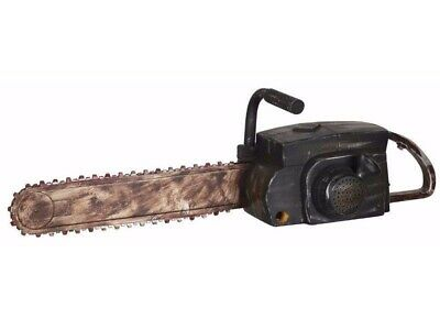 Animated Chainsaw Halloween Prop Haunted Texas Massacre Sound Fake Leatherface