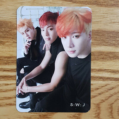 S:W:J Unit Official Photocard Monsta X 2nd Album Take.1 Are You There? Kpop