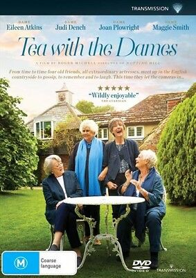 Tea With The Dames (Dvd, 2018) 🍿 [Brand New & Sealed]