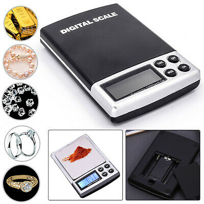 Digital Electronic Mini Pocket LCD Scale Multi-Purpose 0.01g, 0.1g-100 to 1000g