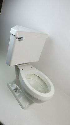 Enjoyable Eljer Triangle Tank Corner White Two Piece Toilet Bowl Beatyapartments Chair Design Images Beatyapartmentscom