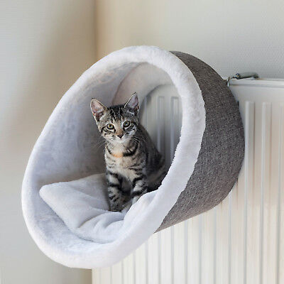Cat Kitten Radiator Cuddly Cave Bed plush/upholstery fabric cover adjusts 43144