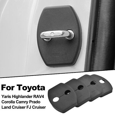 Door Lock Cover For Toyota Yaris Corolla Camry Prado FJ Cruiser RAV4 Highlander