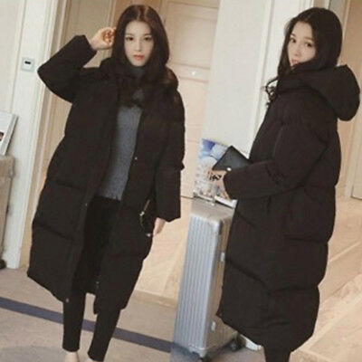 Jacket Coat Down Hooded Loose Winter Women Cotton Outwear New Warm long Padded