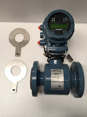 "Rosemount 8705 Magnetic Flowmeter 2"" Size With 8732 Transmitter (1)"