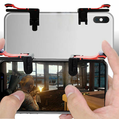Gaming Trigger Cell Phone Game PUBG Controller Gamepad for Android IOS System US