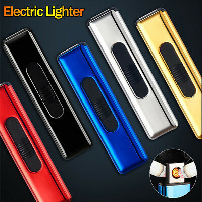 Mini Rechargeable USB Electric Windproof Lighter Flameless Arc Cigarette Lighter