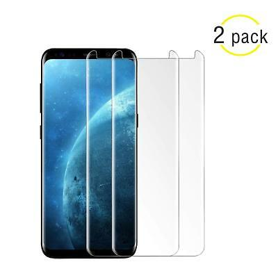 1/2X Samsung Galaxy S8/S9 Plus Note 8 9 Tempered Glass 4D Full Screen Protector^