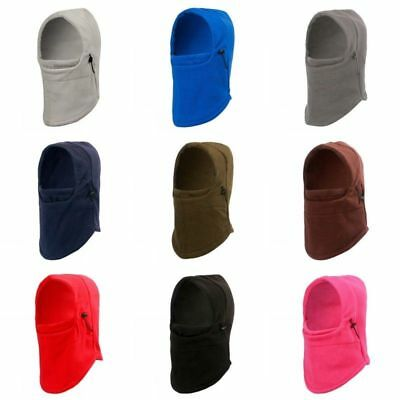 Thermal Motorcycle Fleece Balaclava Neck Ski Full Face Mask Winter Cap Cover Hat