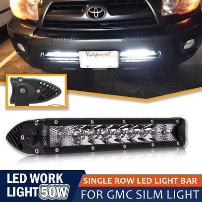 "LED Light Bar Flood Spot Combo 11""inch offroad 4x4 Work light Bar for Trucks UTV"