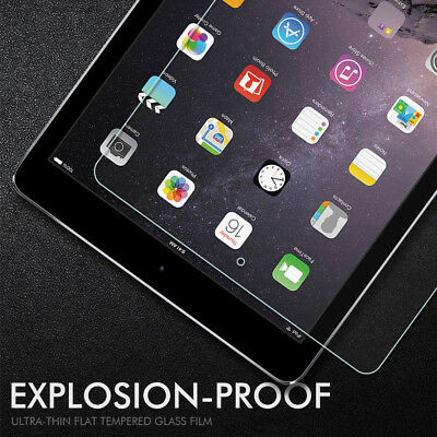 Tempered Glass Screen Protector for iPad 9.7 2017 2018 Air 2 Mini 1 2 3 Pro 10.5