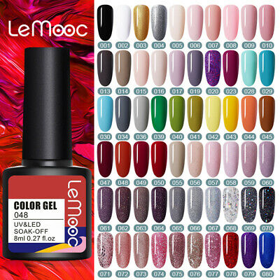 175Couleur Multiple UV Gel Nail Art Semi Permanent Vernis à ongles DIY LILYCUTE