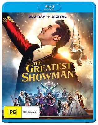 THE GREATEST SHOWMAN (Blu-ray, 2018) 🍿 [BRAND NEW & SEALED]