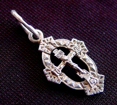 Silver Russian Cross, Jesus Christ, Old Small Sterling Orthodox, Russia, Rare