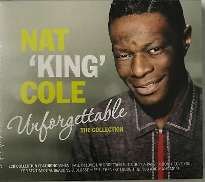 NAT KING COLE - UNFORGETTABLE - THE COLLECTION - (2xCD) NEW SEALED