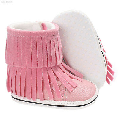 2C8B 11cm/12cm/13cm Snow Boots Baby Shoes Tassel Gifts Keep Warm