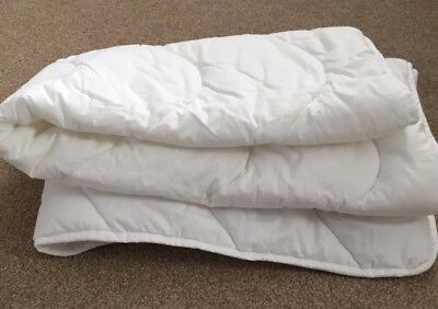 John Lewis Anti Allergy Cotbed Duvet