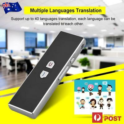Intelligent Translation Smart Translator 40 Language Instant Voice Pocket Device