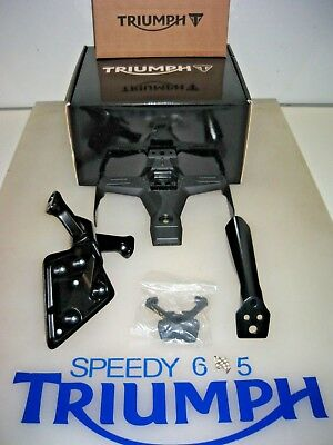 Triumph Street Triple 765 R S & Rs Number Plate Holder Kit Tail Tidy A9708391