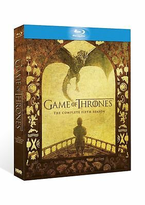 Game of Thrones: Season 5 (2016) Blu-ray New & Sealed