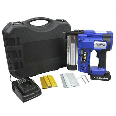 Nail & Staple Gun Cordless Electric Heavy Duty Precision Stapler Nailer 18V