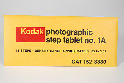 New 4 inch Kodak Phoographic Step Tablet 1A (152 3380)