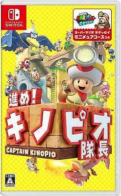 NEW Nintendo Switch NS Game Captain Toad: Treasure Tracker Eng/Jap Ver