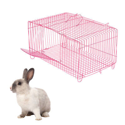 Small Pet Hamster Rabbit House Folding Cage Small Animal Crate House