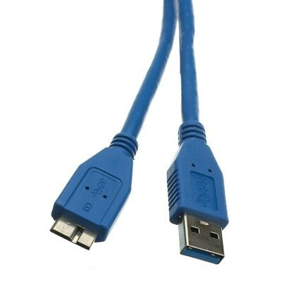 0Usb 3.0 Type A Male To B Micro Sync Data Hdd Hard Disk Cable 1M